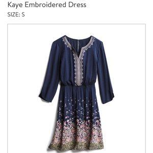 3/4 arm length dress